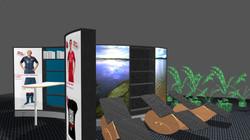 Wave Display Mehr-Zonengestaltung