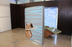 Wave Display Messewand - Werbeträger