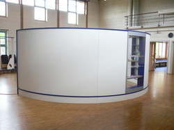 Wave Display als runder Raum