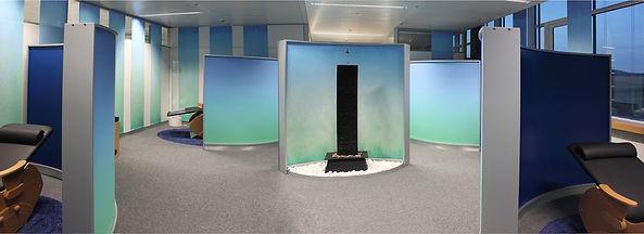 Stellwandsystem Raumgliederung Büroraumgestaltung Raumteiler mobil individuell und systemisch