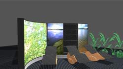 Wave Display in Hotell- und Wellness