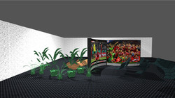 Wave display als Curved Screen-Kino