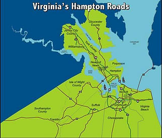Service  Hampton Roads Virginia Beach, Norfolk ,Chesapeake , Newport News, Portsmouth