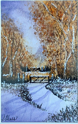 Winter Wonderland - Watercolor