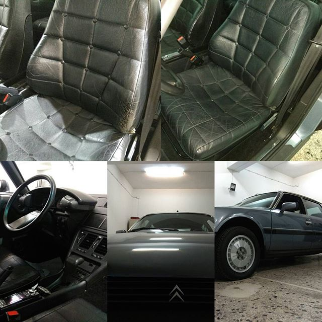 Citroen CX25 σαλόνι