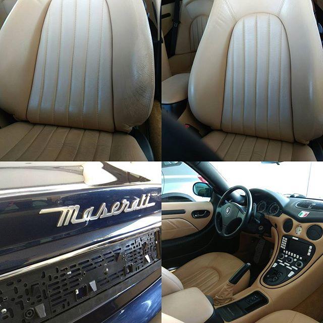 Maserati καθίσματα