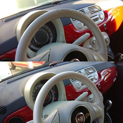 Fiat 500 τιμόνι