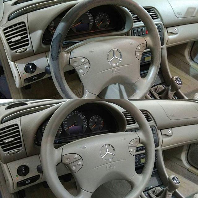 Mercedes E200 τιμόνι