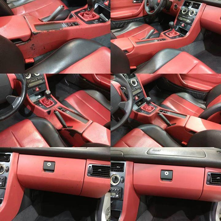 SLK Mercedes σαλόνι