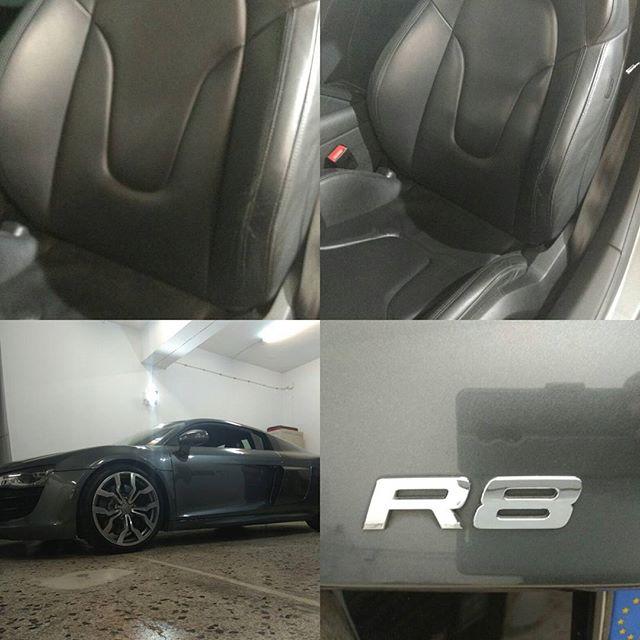 Audi R8 κάθισμα