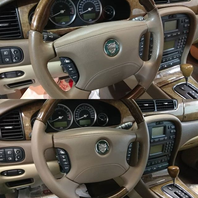 Jaguar τιμόνι