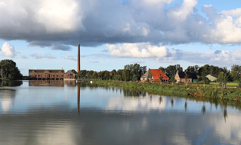 Die imposante Dampf-Kathedrale am Rande von Lemmer ist wieder für das Publikum geöffnet.