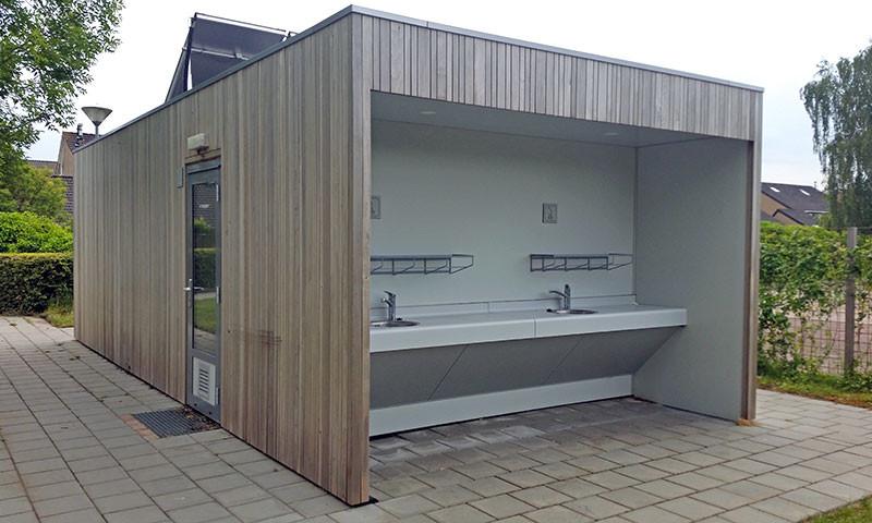 Ab dem 15. Juni 2020 sind Toiletten und Duschen wieder offen.