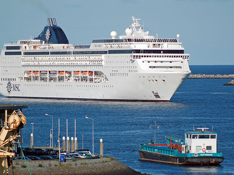 Kreuzfahrtschiffe meiden NL