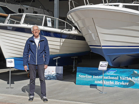 Wiebe Leistra bei Smelne Yachtcenter BV