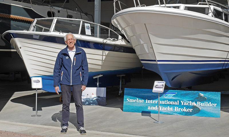 Der Skandinavien-Spezialist Wiebe Leistra berät nun bei Smelne Yachtcenter in Drachten.