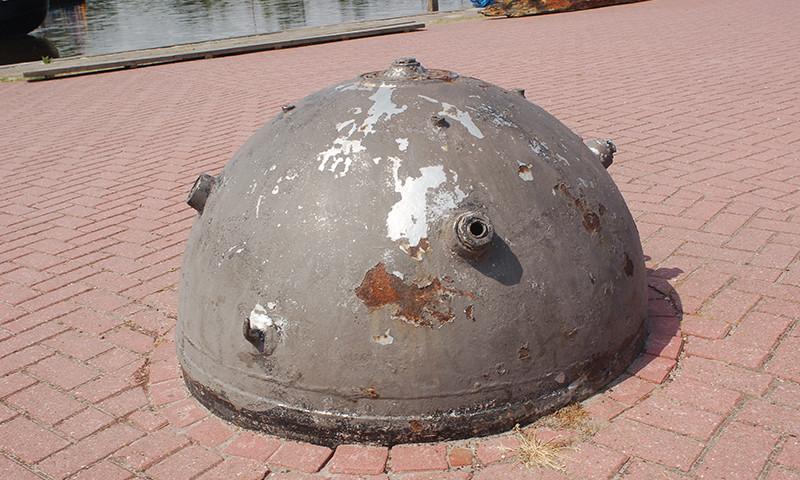 Symbolbild: Ein Teil einer Seemiene aus dem zeiten Weltkrieg.
