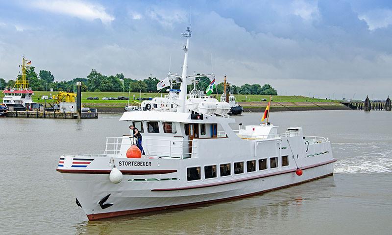 Die schmucke MS Störtebecker wird im August in Betrieb gehen.