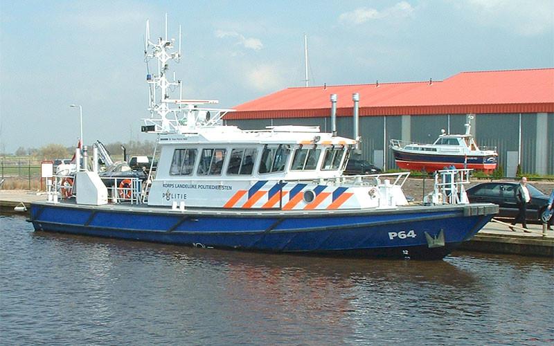 Symbolbild Polizeiboot Sneek
