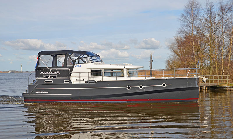 Die Ceto ist die Jüngste in der schönen Flotte von de Brekken.