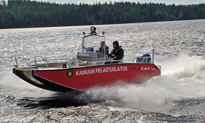 Alucat aus Finnland zu Gast auf der Holland Boot in Leeuwarden.n