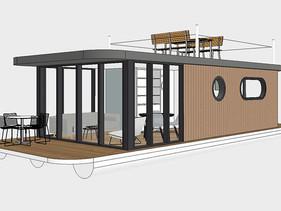 Lotus Houseboats für Wohngenuss pur