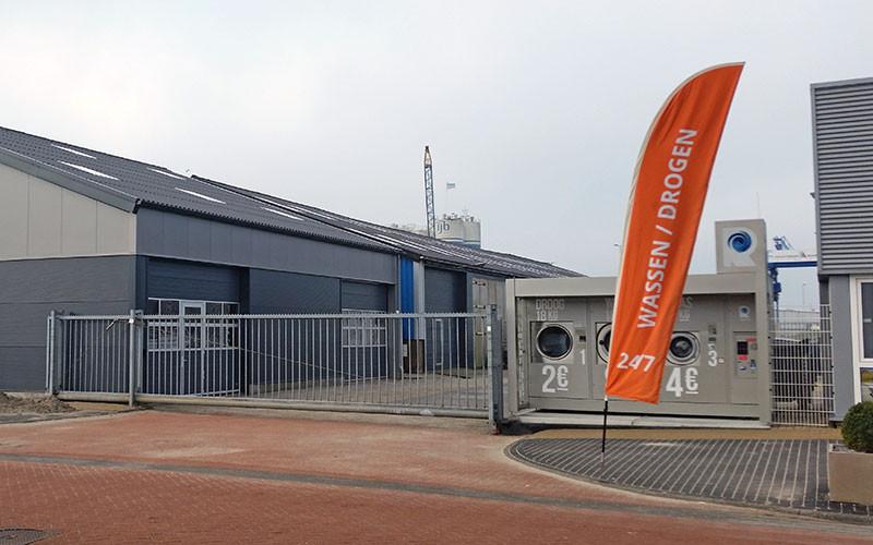 Die neue Halle von Boatcity Tendercenter in Lemmer.