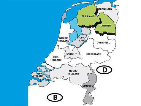 Wenig Infektionen in Friesland und Drenthe