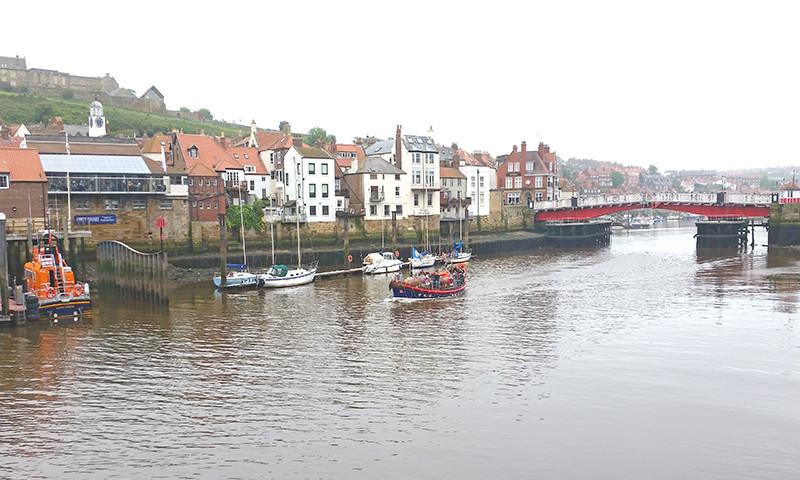 Withby ist nur einer der vielen Jachthäfen an der  englischen Ostküste.