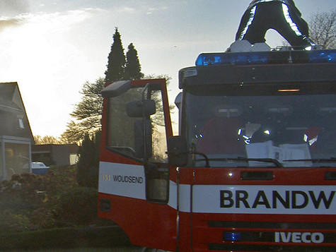 Hallenbrand in Heerenveen