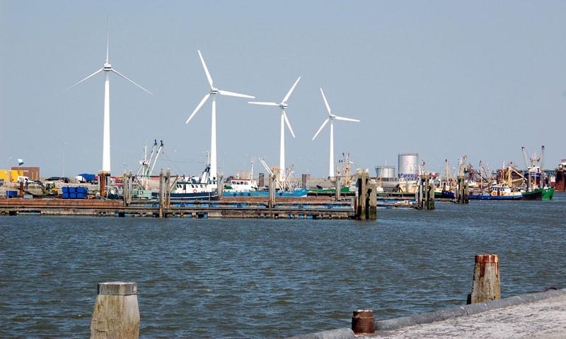 Die nördlich gelegenen Seehäfen Harlingen, Lauwersoog und Eemshaven sind in großen Teilen frei zugänglich