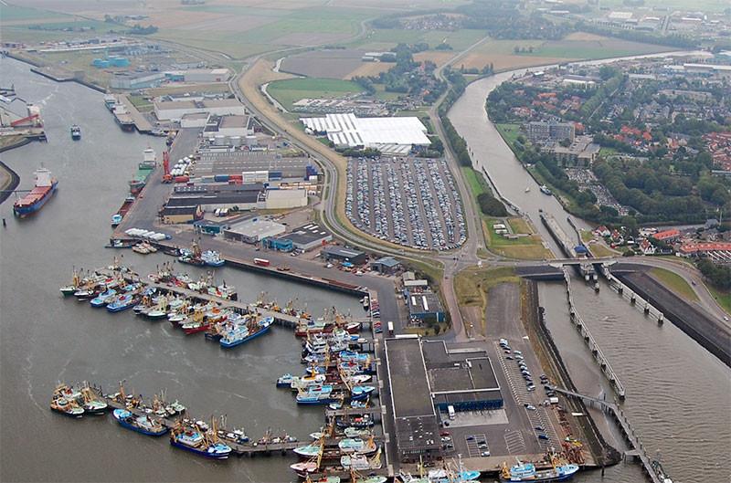 Hafen Harlingen BDS Gelände