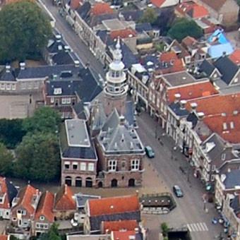 Der Turm vom Stadthaus wurde aus Sicherheitsgründen entfernt.
