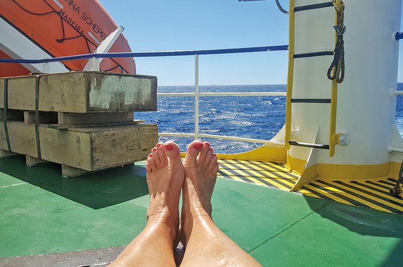 Schiffsurlaub ohne Kleiderzwang und Animation.