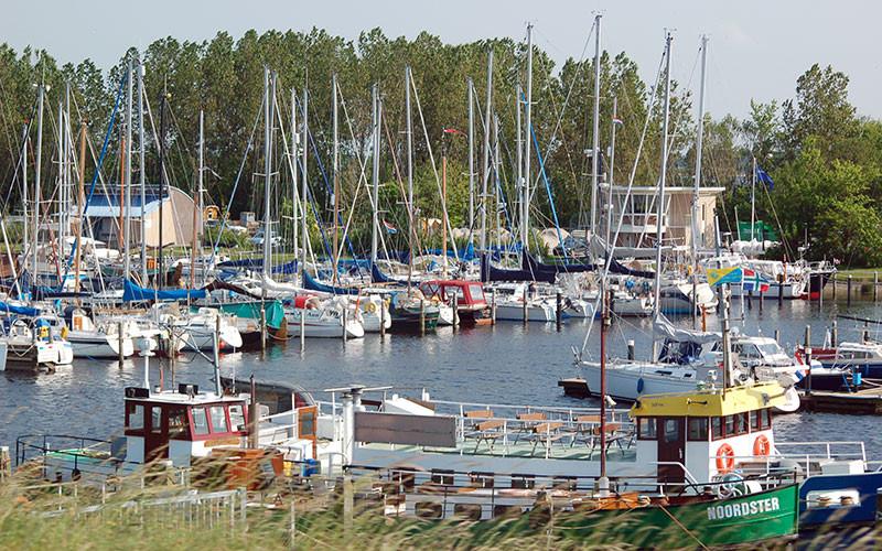 Symbolbild, Jachthafen bei Lauwersoog