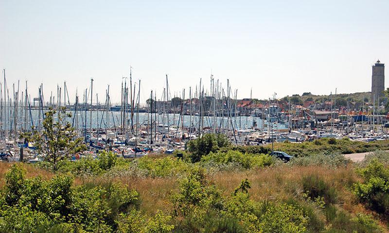 Der Jachthafen von Terschelling.