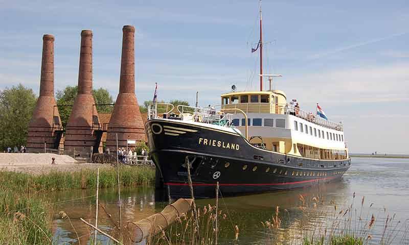 Die alt Bekannte MS Friesland I fuhr bis 1988 auf dem Trajekt Harlingen-Terschelling.