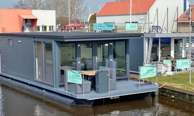 Die Hafenlodge 3.2 ist bei Goliath in in Sneek noch einige Tage zu besichtigen.
