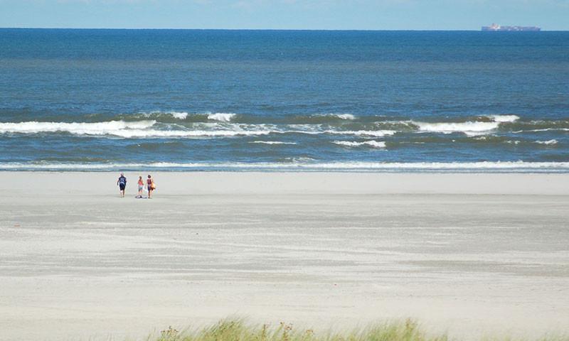 Die Nordsee-Stände sind bei schönem Wetter meistens sehr gut besucht.