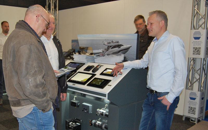 Henk Jan Westers im Kundengespräch.