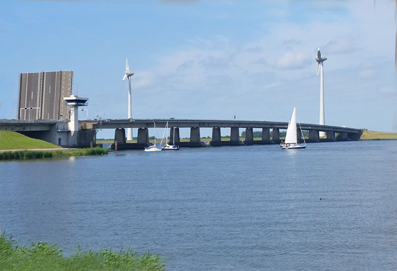 Die Ketelbrücke bereitet immer wieder schwierigkeiten.
