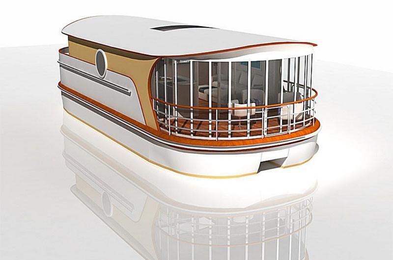 Villaboat im Anbau.