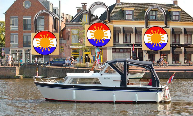 Die Charterboot stehen bereit.