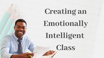 Emotionally Intelligent school online training