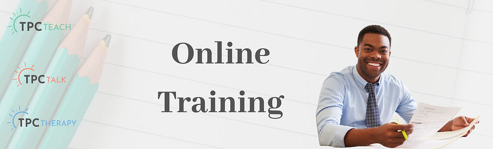 Therapeutic Teaching Online Training