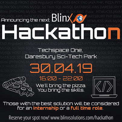 Blinx Hackathon April 2019