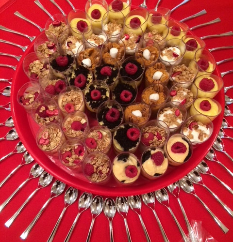 Assorted Shot Glass Pudding
