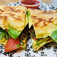 A breakfast Taco- Sort of...