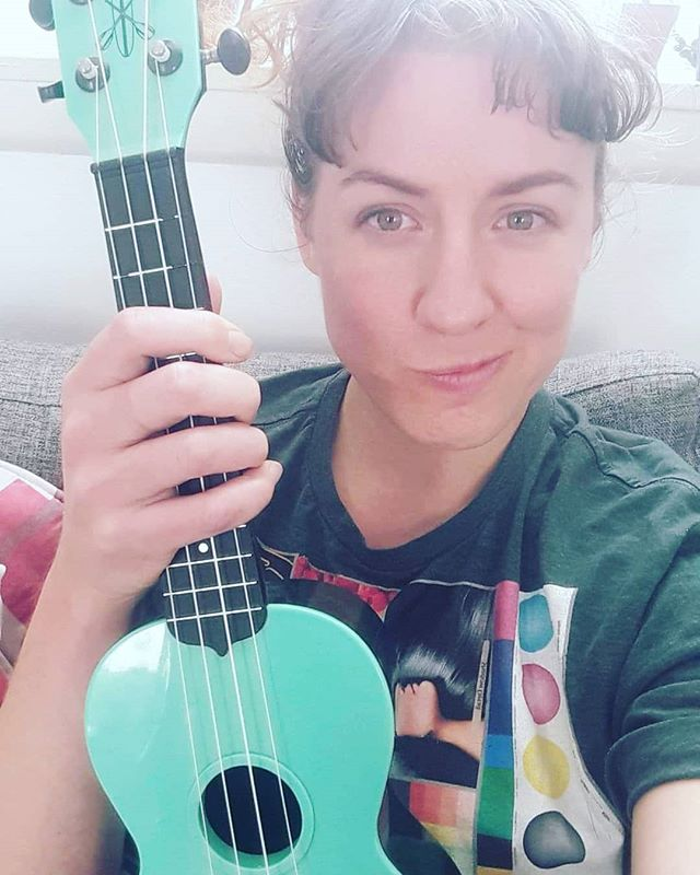 Making up some ukulele songs for my lovi