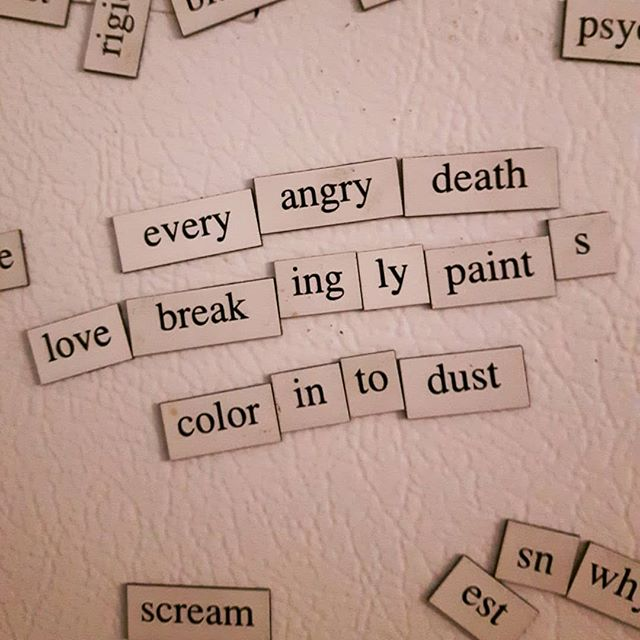 Poetry magnets p.2